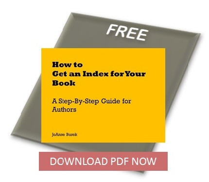 Author's guide to getting an index written